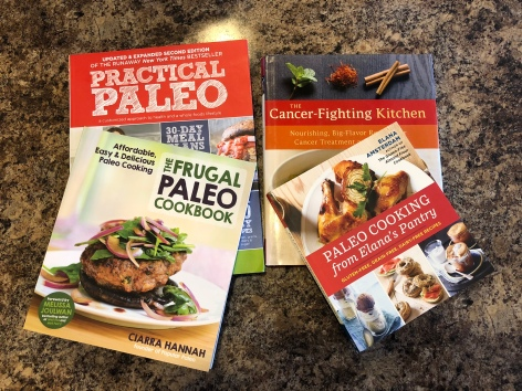 Paleo and cancer fighting books