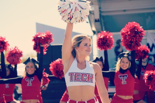 Brooke Dancing for Texas Tech University