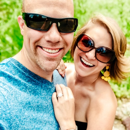 Nicole and Wes at the Cheyenne Mountain Zoo taking a selfie together!