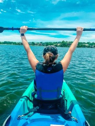Nicole Kayaking