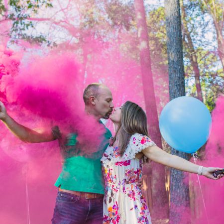 Wes and Nicole Gender Reveal